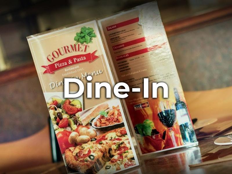 Pizza Dine-In